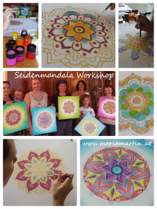 Seidenmandala Workshop